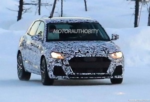 2018 Audi A1 spy shots - Image via S. Baldauf/SB-Medien