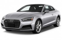 2018 Audi A5 Coupe 2.0 TFSI Premium Manual Angular Front Exterior View