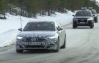 2018 Audi A8 spy shots and video