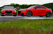 2018 Audi RS 3 and TT RS at Lime Rock Park
