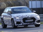 2018 Audi RS 4 Avant spy shots - Image via S. Baldauf/SB-Medien