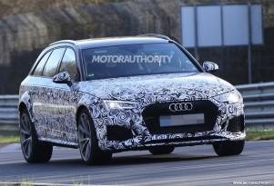 2018 Audi RS 4 Avant spy shots - Image via S. Baldauf/SB-Medien