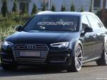 2018 Audi RS 4 test mule spy shots - Image via S. Baldauf/SB-Medien
