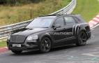 2018 Bentley Bentayga Speed Spy Shots
