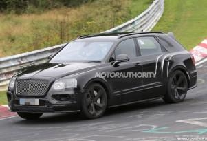 2018 Bentley Bentayga Speed spy shots - Image via S. Baldauf/SB-Medien
