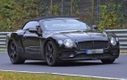 2018 Bentley Continental GT Convertible spy shots