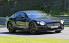 2018 Bentley Continental GT spy shots