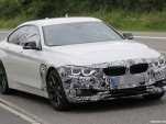 2018 BMW 4-Series Gran Coupe facelift spy shots - Image via S. Baldauf/SB-Medien