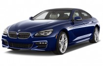 2018 BMW 6-Series 640i Gran Coupe Angular Front Exterior View