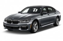 2018 BMW 7-Series 750i Sedan Angular Front Exterior View