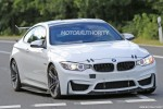 2018 BMW M4 GT4 spy shots