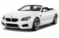 2018 BMW M6 Convertible Angular Front Exterior View