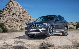 Meet the new 2018 BMW X3, a lot like the old BMW X3
