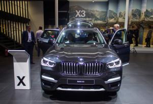 2018 BMW X3, 2017 Frankfurt Auto Show