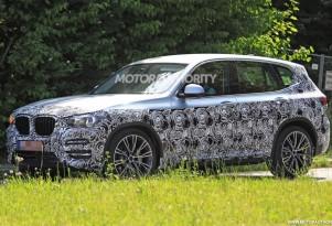 2018 BMW X3 spy shots - Image via S. Baldauf/SB-Medien