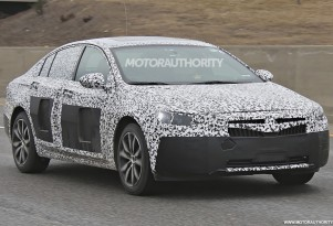 2018 Buick Regal spy shots - Image via S. Baldauf/SB-Medien