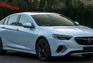 Leaked images of Chinese Buick Regal GS