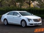 2018 Cadillac XTS leaked - Image via Autohome