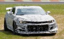 2018 Chevrolet Camaro Z/28 prototype crashes at the Nürburgring - Image via S. Baldauf/SB-Medien