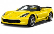 2018 Chevrolet Corvette 2-door Grand Sport Convertible w/3LT Angular Front Exterior View