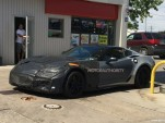 2018 Chevrolet Corvette ZR1 spy shots - Image via Martin Desormeaux