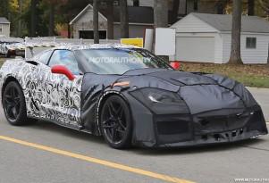 2018 Chevrolet Corvette ZR1 spy shots - Image via S. Baldauf/SB-Medien