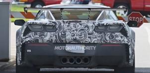 2018 Chevrolet Corvette ZR1 spy shots - S. Baldauf/SB-Medien