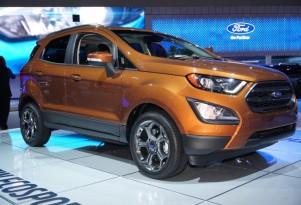 2018 Ford Ecosport, 2016 Los Angeles Auto Show