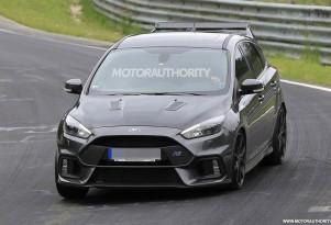 2018 Ford Focus RS500 spy shots - Image via S. Baldauf/SB-Medien