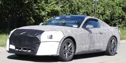 2018 Ford Mustang facelift spy shots - Image via S. Baldauf/SB-Medien