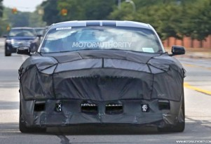 2018 Ford Mustang Shelby GT500 spy shots - Image via S. Baldauf/SB-Medien