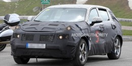2018 Geely SUV spy shots - Image via S. Baldauf/SB-Medien
