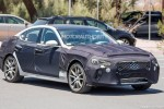 2018 Genesis G70 spy shots and video