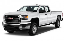 "2018 GMC Sierra 2500HD 2WD Double Cab 158.1"" Angular Front Exterior View"