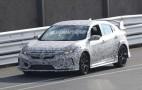 2018 Honda Civic Type R spy shots and video