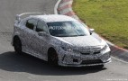 2018 Honda Civic Type R Spy Shots