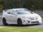 2018 Honda Civic Type R spy shots - Image via S. Baldauf/SB-Medien