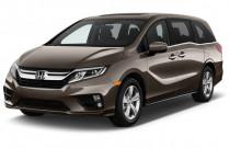2018 Honda Odyssey EX-L Auto Angular Front Exterior View