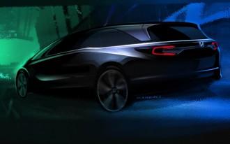 2018 Honda Odyssey teased ahead of Detroit debut