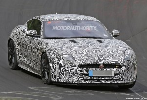 2018 Jaguar F-Type facelift spy shots - Image via S. Baldauf/SB-Medien
