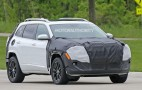 2018 Jeep Cherokee spy shots