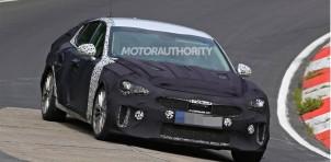 2018 Kia GT (Stinger) spy shots - Image via S. Baldauf/SB-Medien