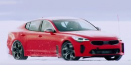 2018 Kia Stinger cold-weather testing