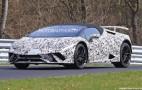 2018 Lamborghini Huracán Performante Spyder spy shots