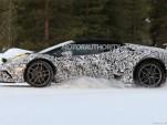 2018 Lamborghini Huracán Spyder Performante spy shots - Image via  S. Baldauf/SB-Medien