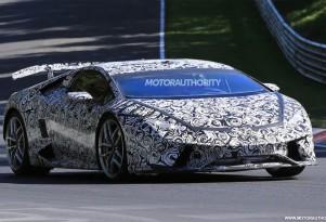 2018 Lamborghini Huracán Superleggera spy shots - Image via S. Baldauf/SB-Medien