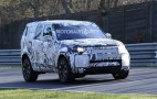 2018 Land Rover Discovery spy shots