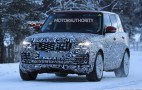 2018 Land Rover Range Rover spy shots