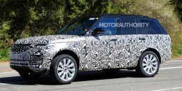 2018 Land Rover Range Rover facelift spy shots - Image via S. Baldauf/SB-Medien