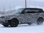 2018 Land Rover Range Rover Sport facelift spy shots - Image via S. Baldauf/SB-Medien